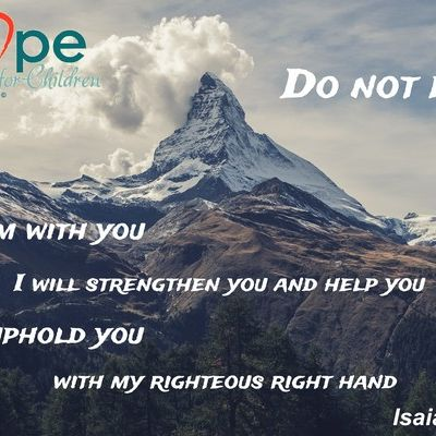 For I am with you. I will strengthen you and help you. I will uphold you with my righteous right hand ~Isaiah 41.10 #ArkofHope