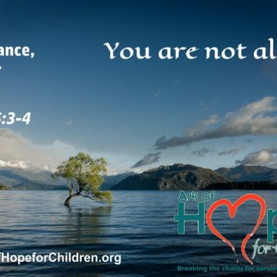 Suffering produces perseverance, character and hope ~Romans 5.3-4 #ArkofHope