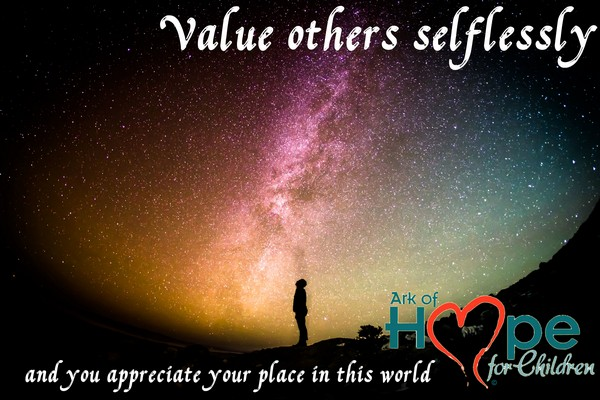 value others selflessly 60060878314 3C45 1493 6309 360E24BCB88E