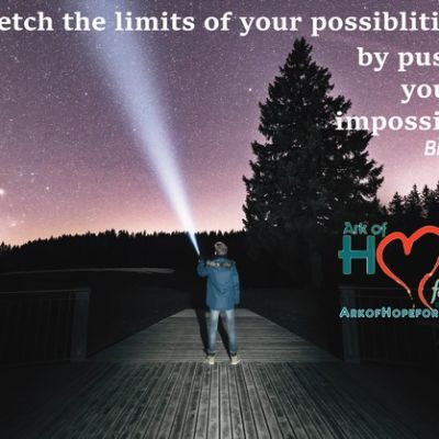 Stretch the limits of your possibilities by pushing your impossibilities ~Blair Corbett